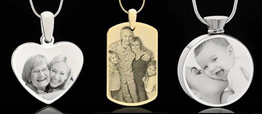 Jewelry keepsakes cremation jewelry keepsakes cremation keepsake photo engraved jewelry aloadofball Choice Image