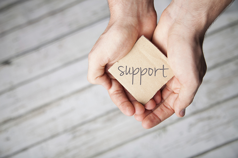 Support others when they need it