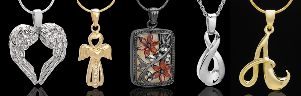 Cremation pendants cremation rings and bracelets and photo cremation jewelry pendants mozeypictures Choice Image